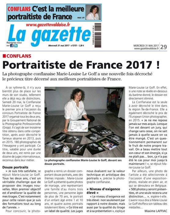 Meilleur Portraitiste de France 2017